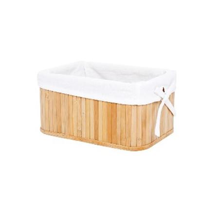 Cesta para la ropa de bambu