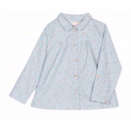 Camisa Azul Nina